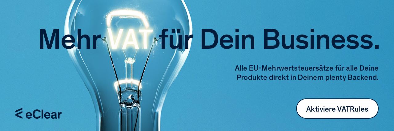 eClear: Mehr VAT für dein Business
